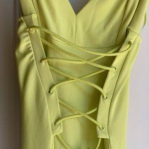 Zara long tied dress